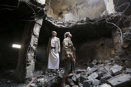 Saudi-led coalition raids target Yemen bases, Houthi leaders' houses