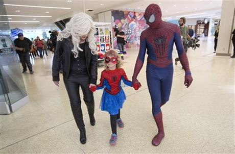 6-year-old Canadian with cancer lives Spider-Man dream