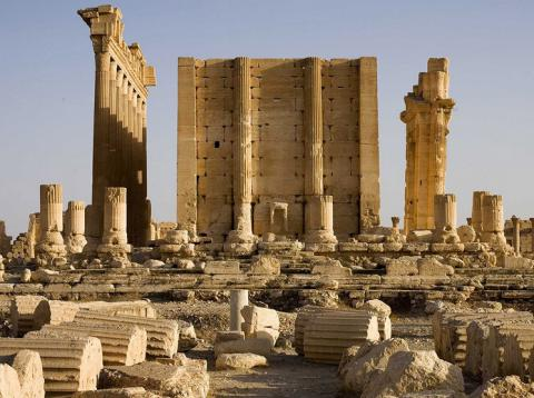 Isis profits from destruction of antiquities by selling relics to dealers – and then blowing up the buildings they come from to conceal the evidence of looting
