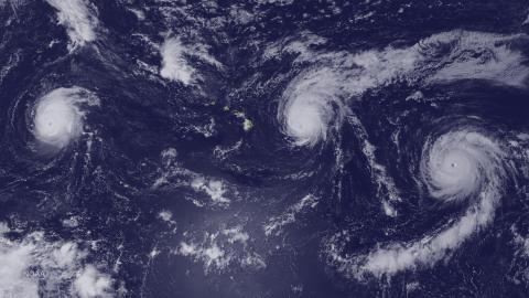 Record-Setting Hurricanes Create Beautiful Mess Across The Pacific