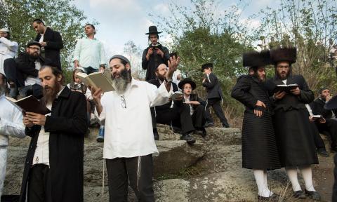 Celebrating Rosh Hashanah in Ukraine