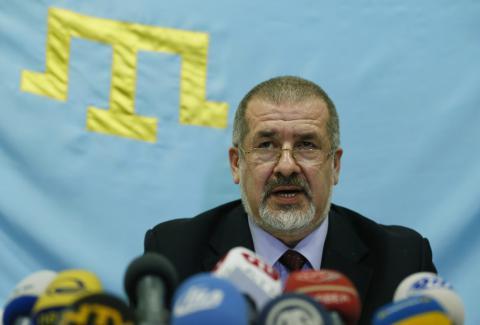 Chubarov announces date of blockade of border with Crimea