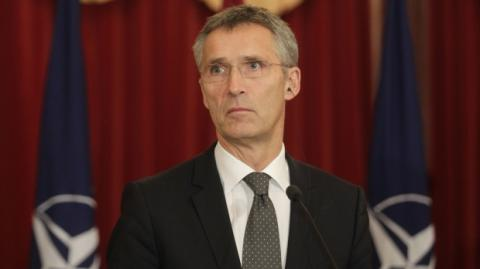NATO chief arrives in Ukraine, praises joint exercises