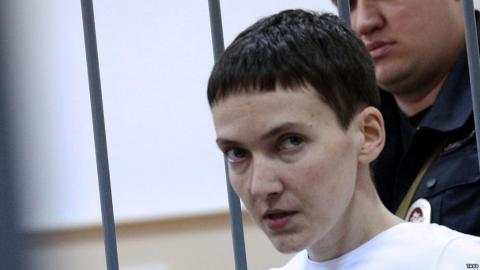 U.S. House of Representatives calls on Russia to free Savchenko