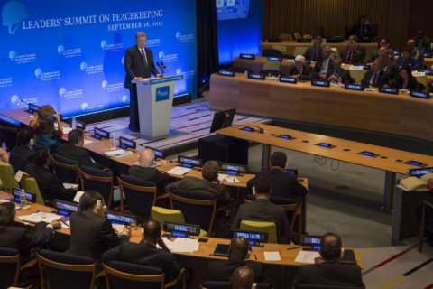 Statement by the President at the UN Peacekeeping Summit (VIDEO)