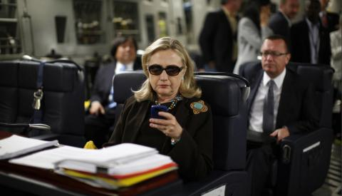 Russia-linked hackers tried to access Hillary Clinton's private email