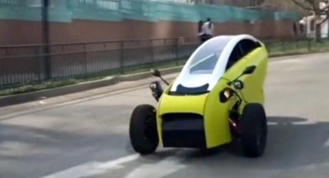 Soki, a two-seat electric car, set to hit the market in March (VIDEO)