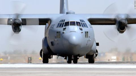 11 killed when U.S. C-130 plane crashes in eastern Afghanistan