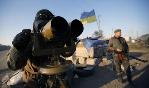 Ukrainian military start pulling back small-caliber weapons