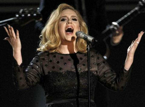Adele's 'Hello' is the second-fastest video to reach 100 million views on YouTube