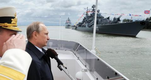 US faces renewed challenge from Russian navy