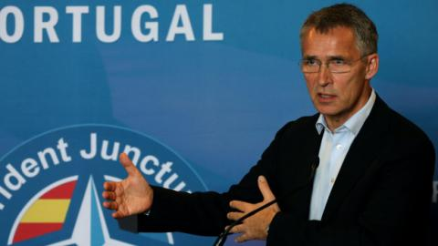 Nato secretary-general calls for modernisation of cold war treaty