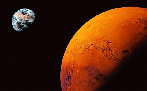 Mars' atmosphere 'gone with the solar wind': NASA
