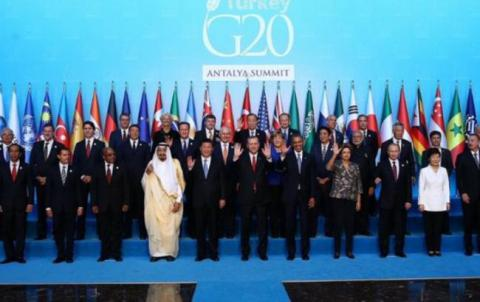 G20 leaders condemn Paris terrorist attacks calling them unacceptable insult to humankind