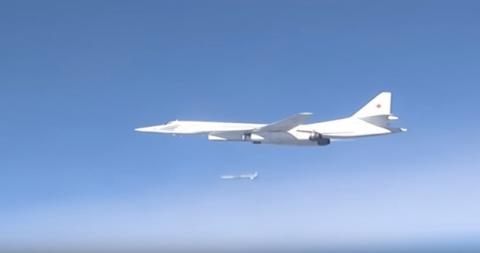 Russia launches long-range air sorties into Syria (VIDEO)