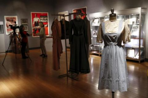 Judy Garland's 'Wizard of Oz' dress fetches over $1.5 million at auction