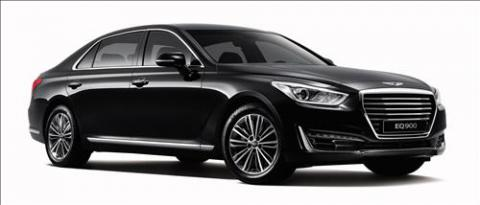 Hyundai Motor launches flagship luxury sedan