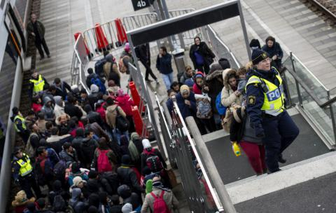 From open hearts to closing doors: Refugees stir Swedish turmoil