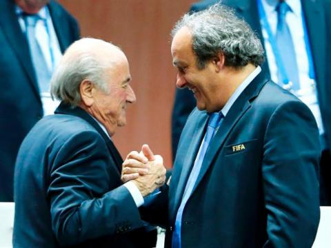 FIFA bans Sepp Blatter and Michel Platini from soccer for 8 years