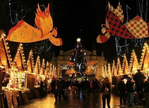 Lviv turns into a fairytale during New Year and Christmas holidays