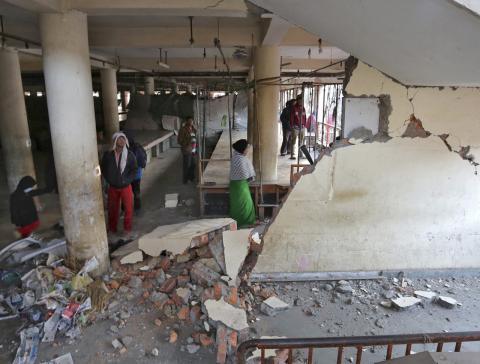 Earthquake measuring 6.7 magnitude hits Northeast India (PHOTO)