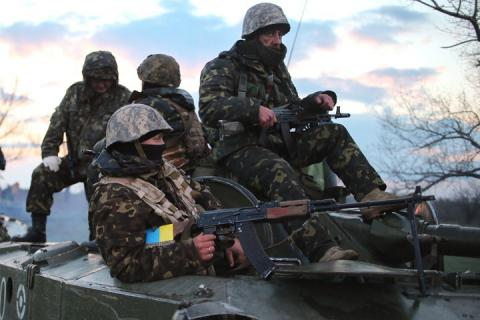 Militants shell Ukrainian troops 20 times in ATO area
