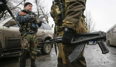 Militants attack ATO forces 21 times in Donetsk region, Luhansk sees truce