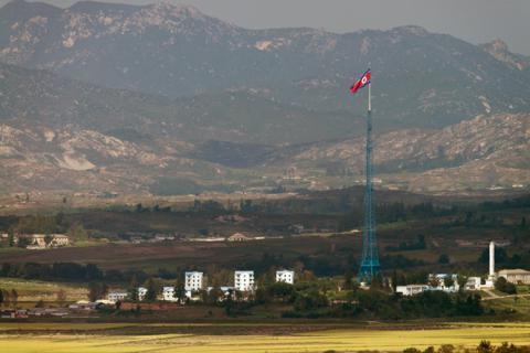 South Korea fires warning shots at suspected drone near border