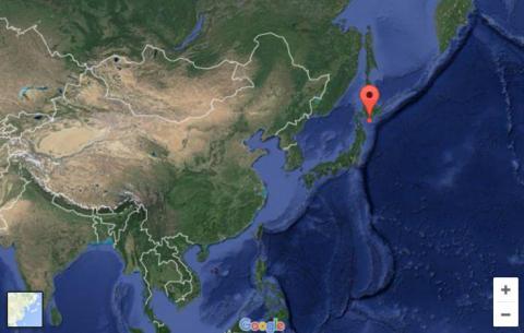 Strong quake near Japan, no tsunami threat