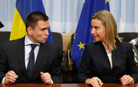Ukrainian foreign minister asks Mogherini to ensure EU diplomatic presence at Savchenko sentencing