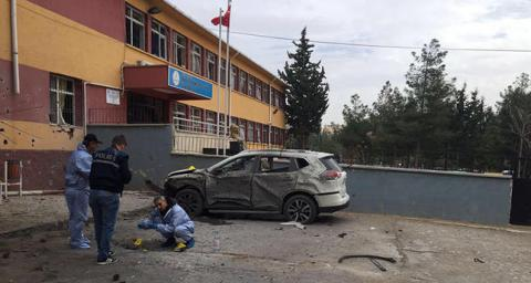 One killed, one wounded as rocket from Syria hits school in Turkey