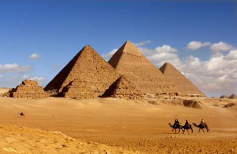 Cosmic particles inside pyramids could unlock mystery of how they were built (VIDEO)