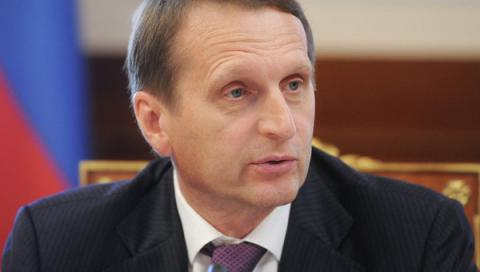 Duma speaker says Ukraine's fault in PACE ban on Russia