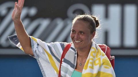 """Kateryna Bondarenko defeats """"seeded"""" Russian opponent at Australian Open"""
