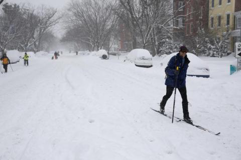 U.S.: Blizzard of 2016 (PHOTO)