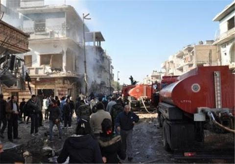 Syrian agency says at least 14 killed in attack in Homs city