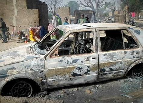 Female suicide bombers kill over 60 people in northeast Nigeria