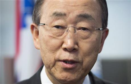 UN chief warns military action risks derailing Syria talks