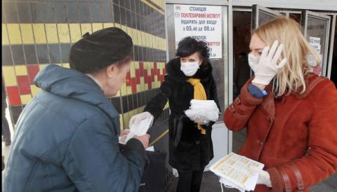 Flu epidemic threshold exceeded in 19 regions of Ukraine