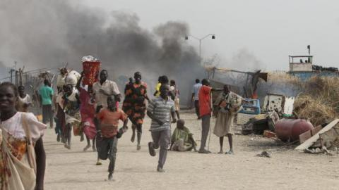 Fighting at U.N. compound in South Sudan kills 18: MSF