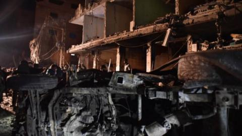 Syria conflict: Homs and Damascus bomb blasts kill 140