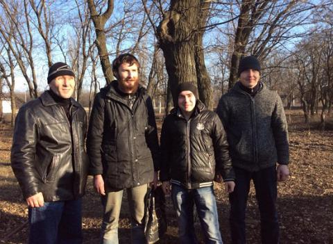 Ukrainian president's office reports release of four servicemen from militant captivity on Feb 20