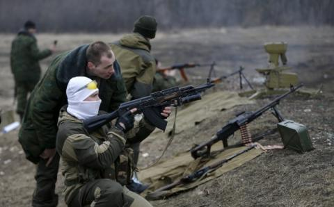 Russian proxies attack ATO troops 56 times in last day
