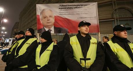 Poland rights report unfavorable for government