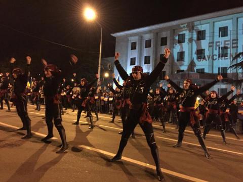"Famous ballet ""Suhishvili"" shows support to Savchenko by dance (VIDEO)"