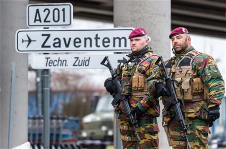 Belgian broadcaster identifies 2 suspects in attacks