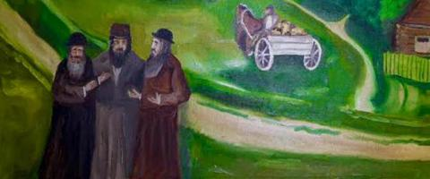 Albert Feldman's exhibition opens in Kyiv