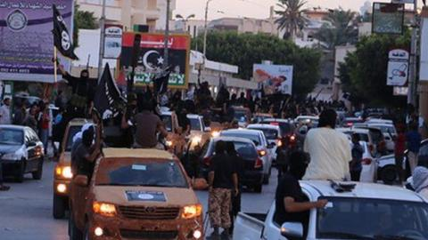 UN experts says Islamic State group is expanding in Libya