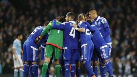 Dynamo Kyiv quits Champions League after goalless draw with Manchester City