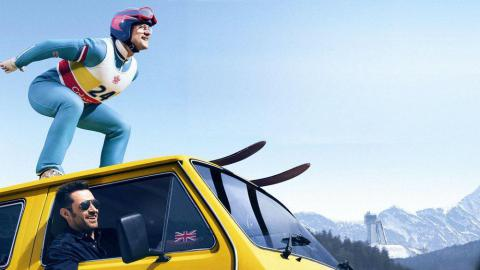 """Eddie The Eagle"": Tale of provincial English plasterer"